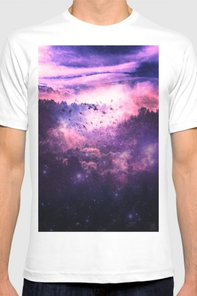 Soaring Space T-shirt by therocketman