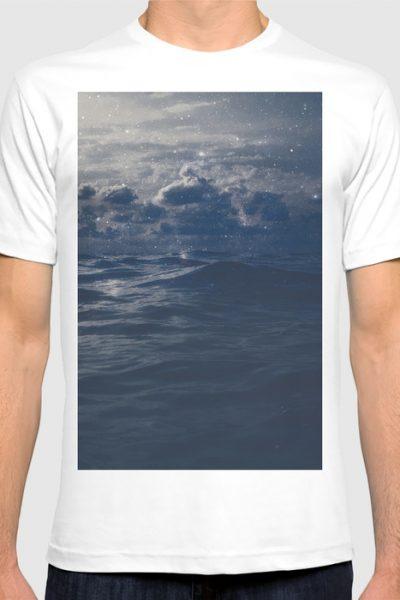 Star Night T-shirt by therocketman