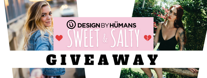 Announcing the Winner of the Design By Humans Sweet & Salty Valentine's Day Giveaway
