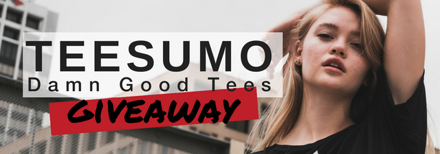 The Teesumo $150 Giveaway