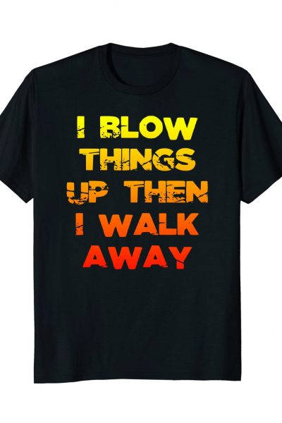Cool Guys Don't Look At Explosions T-shirt