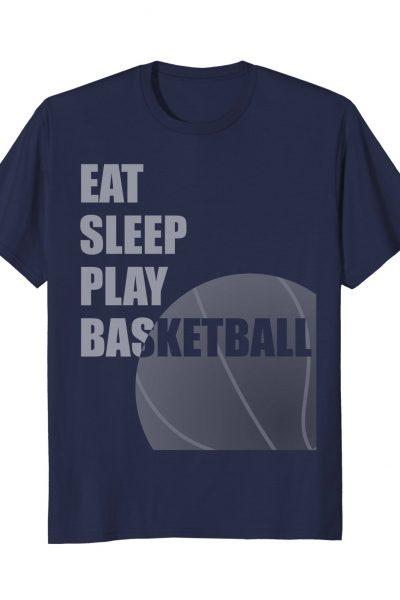 Eat Sleep Play Basketball Sports Graphic