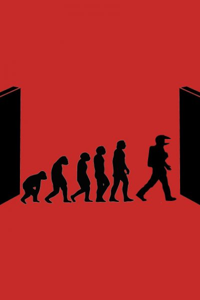 Evolution by Kubrick by oldtee