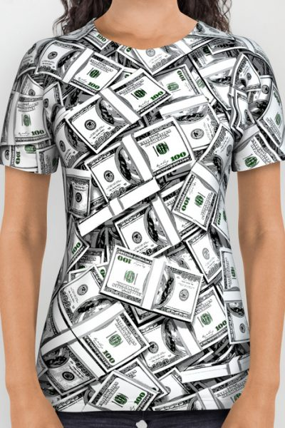 Like a Million Dollars All Over Print Shirt by grandeduc