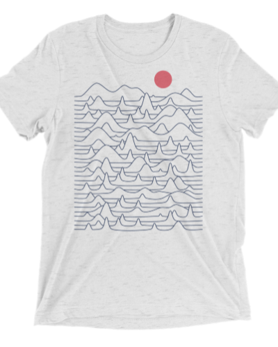 Mountains & Waves T-shirt