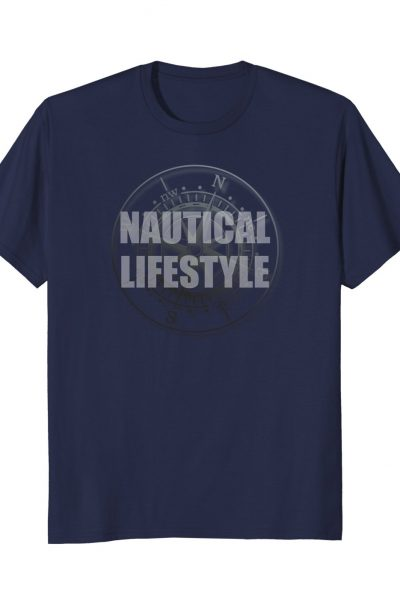 Nautical Lifestyle Boat & Ocean Life Compass