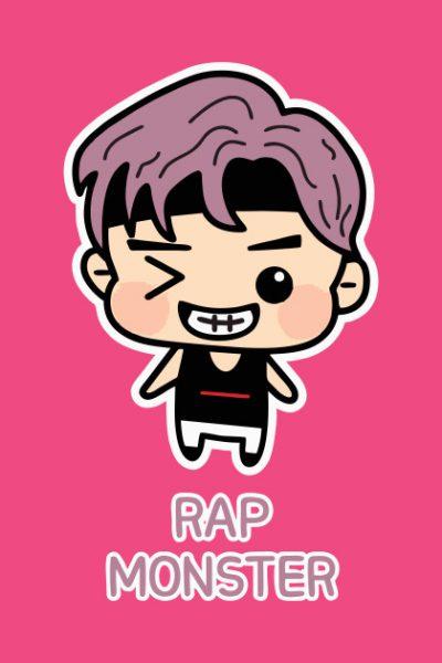Rap Monster BTS Special T-Shirt