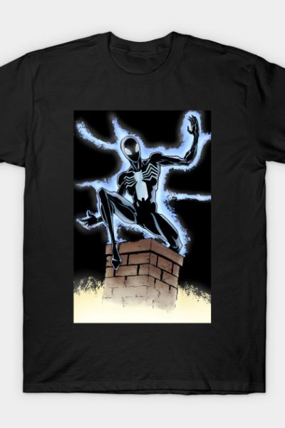 Black Suit Spider-Man (Symbiote) T-Shirt