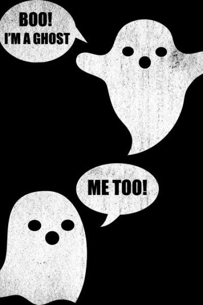 Boo! I'm A Ghost T Shirt By RockNRawrl Design By Humans