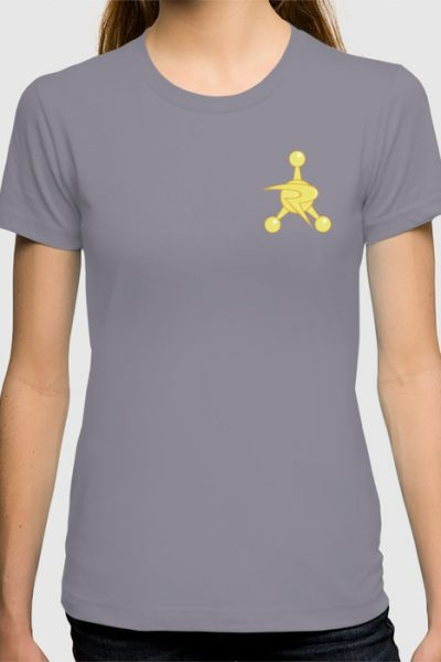Council of Ricks Golden Badge T-shirt by pabrimel