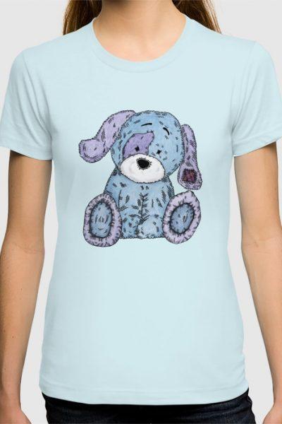 Cuddly Dog T-shirt by pabrimel