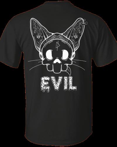 Evil Cat tee