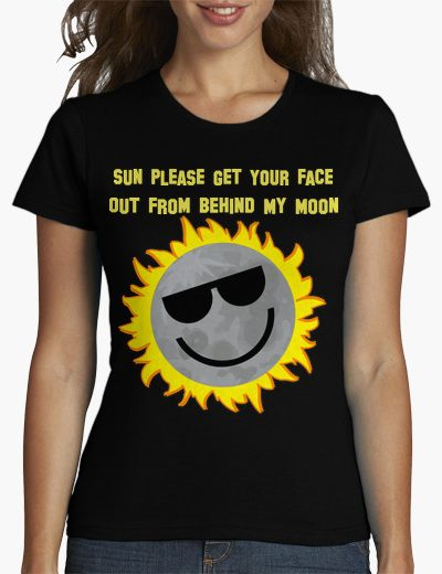 Face In My Moon Shirt