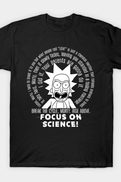 Focus on science Morty!