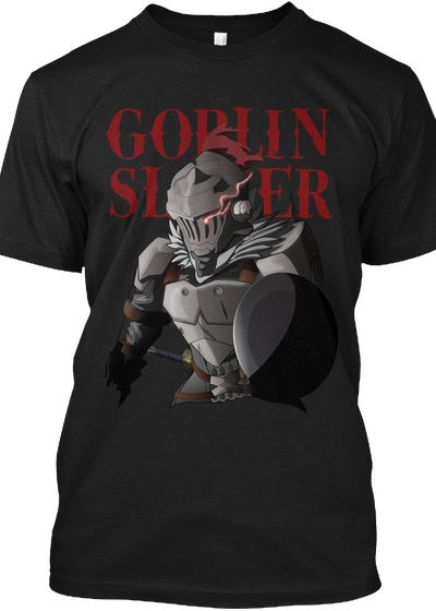 Goblin Slayer T Shirt Black