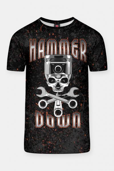 Hammer Down T-shirt, Live Heroes