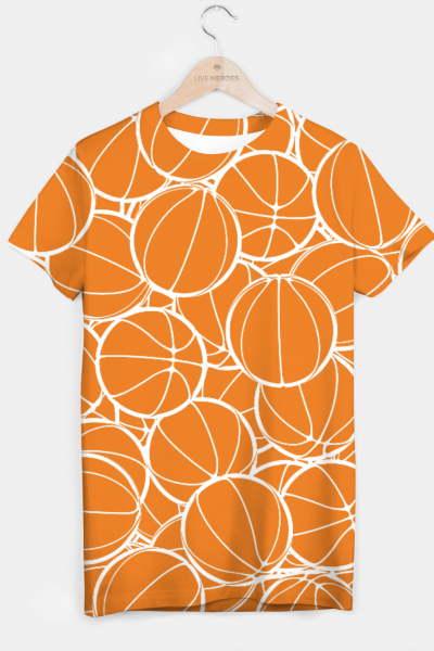 Hoop Dreams T-shirt, Live Heroes
