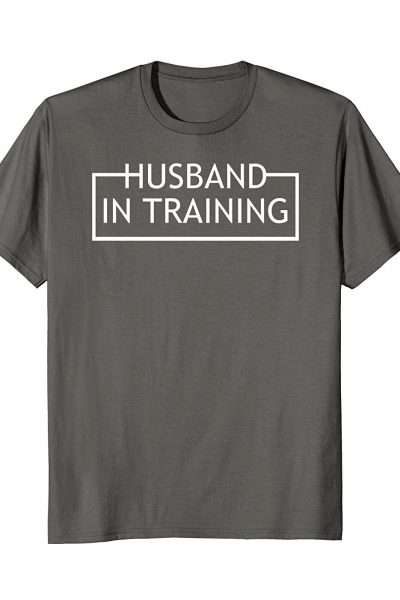 Husband In Training Married Novelty Gift
