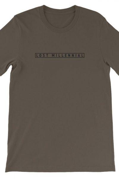 Lost Millennial Short-Sleeve Unisex T-Shirt