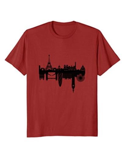 Paris to London – T-Shirt Mens & Womens Sizes