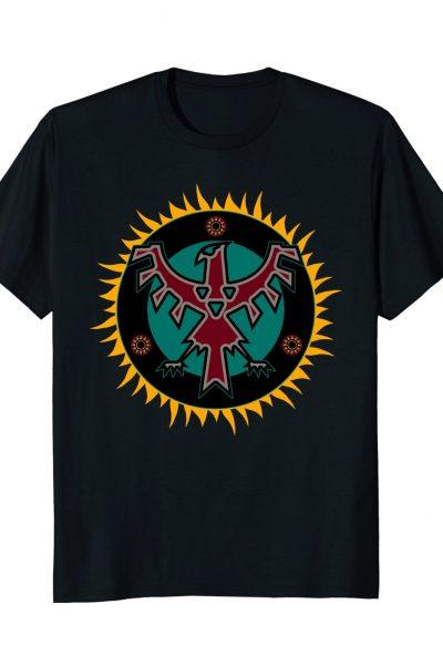 Tribal Thunderbird Eclipsing the Sun