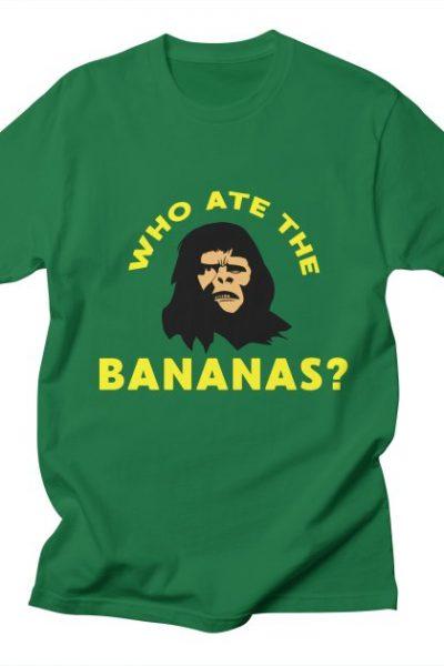 Who Ate The Bananas? | Robotchka Apparel