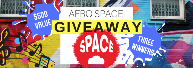 Afro Space Giveaway: For The People