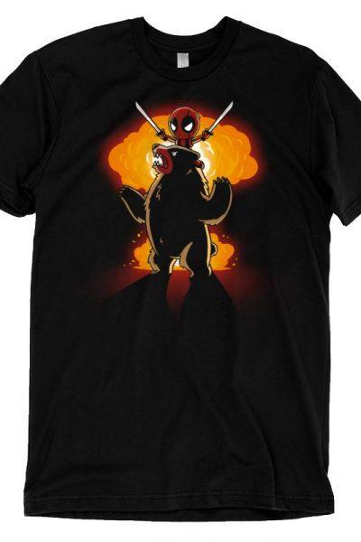 Badass Deadpool Shirt T-shirt | Official Marvel Tee – TeeTurtle