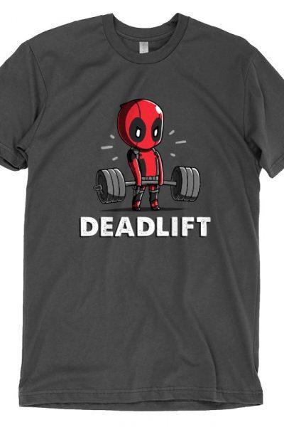 Deadpool Deadlift T-shirt   Official Marvel Tee – TeeTurtle