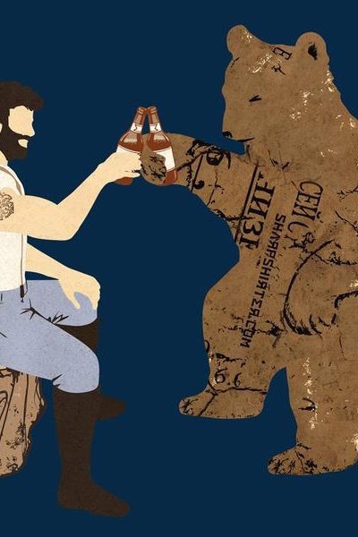 Having a Bear Men's Graphic Tee