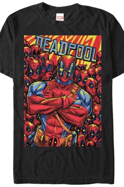 Marvel – Deadpool Pool Adult Regular Fit T-Shirt
