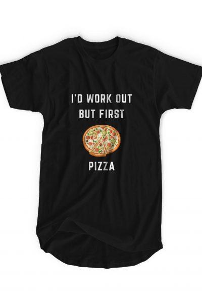 Pizza 100% Cotton T-Shirt