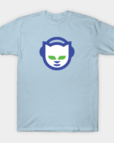 1990s Napster Logo for Classy and Classic Pirates T-Shirt