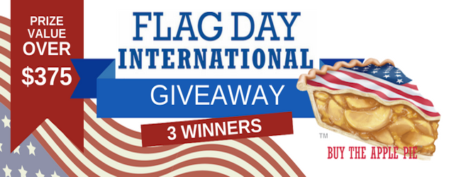 Flag Day Int'l Americana Giveaway: Over $375 in Prizes