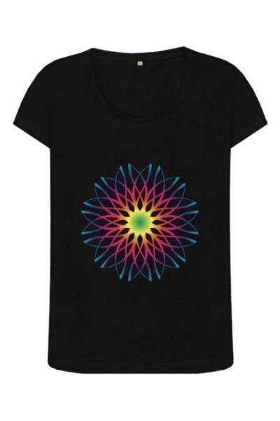COSMIC FLOWER – Women's T-shirt