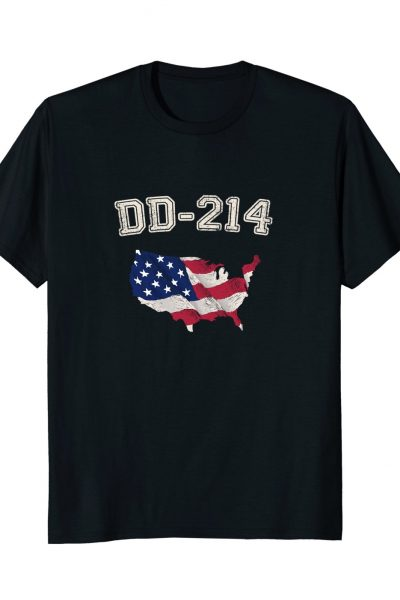 DD-214 Veteran United States Flag