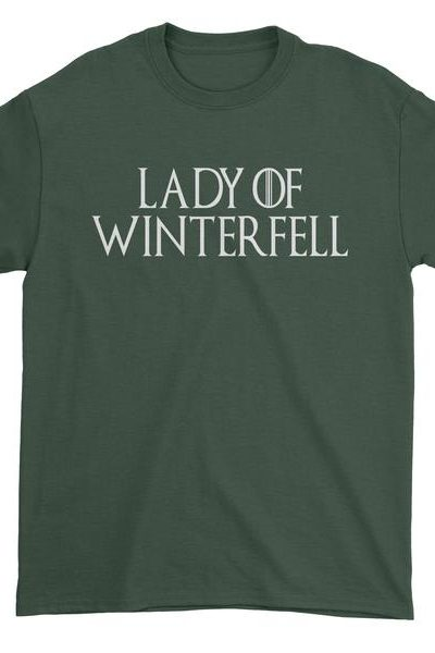 Lady Of Winterfell Mens T-shirt