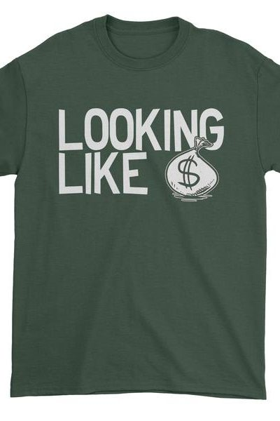 Looking Like Money Bags Mens T-shirt