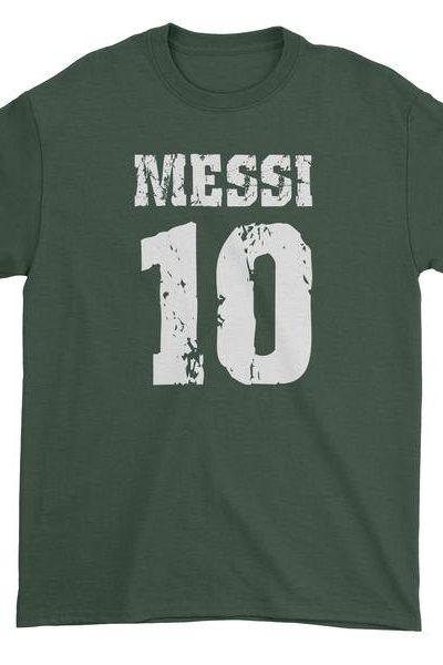 Messi 10 Football Mens T-shirt
