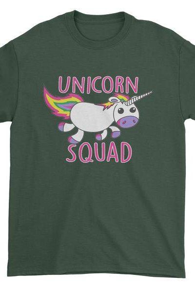 Unicorn Squad Mens T-shirt