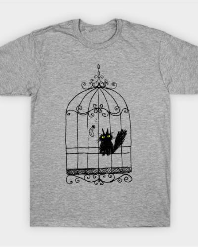 Vevekojotl in a cage