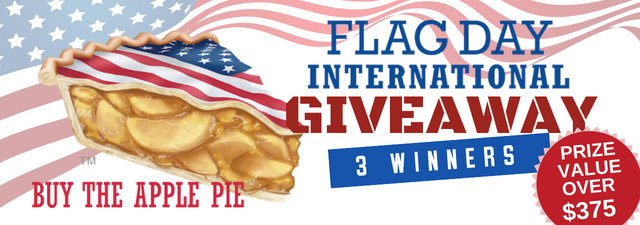 Announcing the Winners of the Flag Day Int'l Americana Giveaway