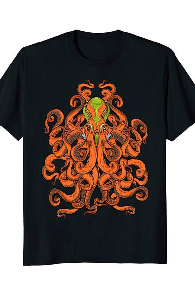 ALIEN OCTOPUS – kraken – sea monster – squid –