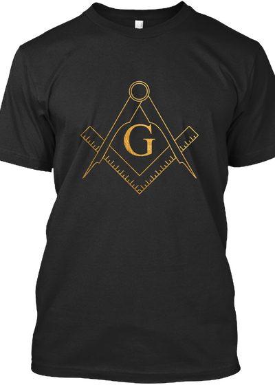 G.A.O.T.U Masonic Golden Symbol t-shirt