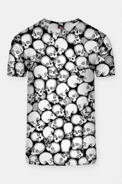 Gothic Crowd B&W T-shirt, Live Heroes