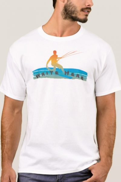 Kiteboarder Tshirt ,Write your name,slogan etc.