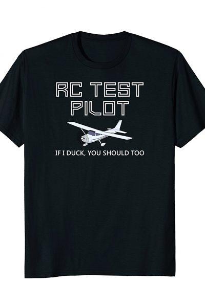 RC Plane Test Pilot Funny Radio Control Hobby