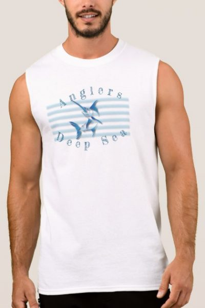 Swordfish Deep sea Angler Sleeveless Shirt