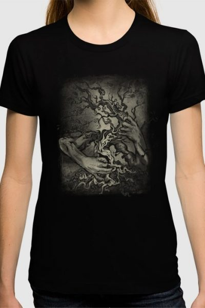 The Guitar Tree. T-shirt by tasharts