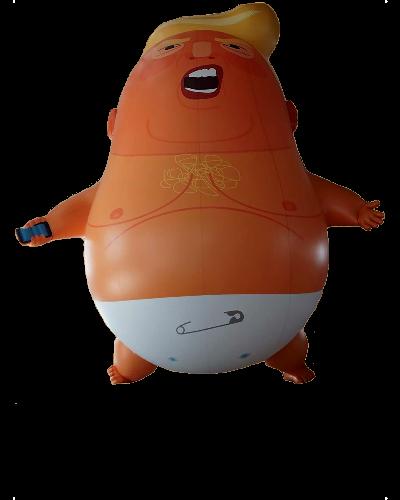 Angry Trump Baby Balloon Shirt